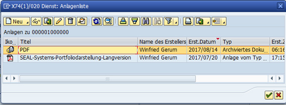 BDS-Anlagenliste_587 How can I link Business Document Services (BDS) documents in SAP through Object Services?