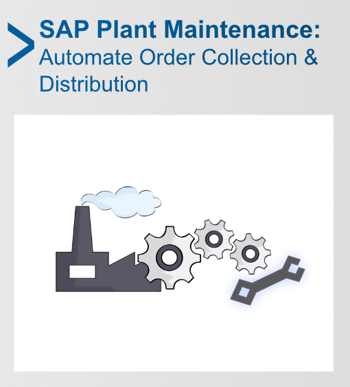 Automated Plant Maintenance Work Order