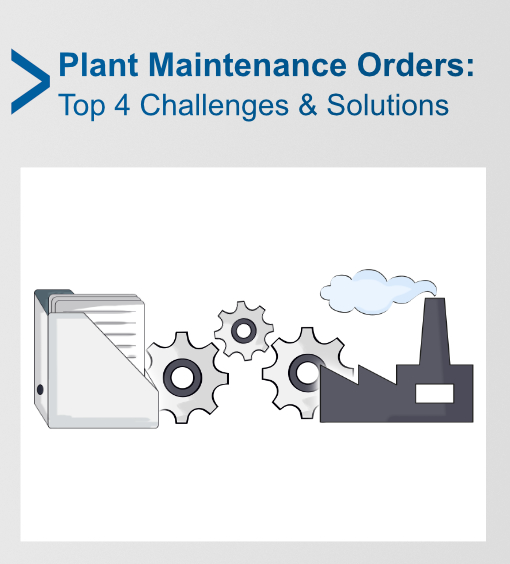SAP Plant Maintenance Orders